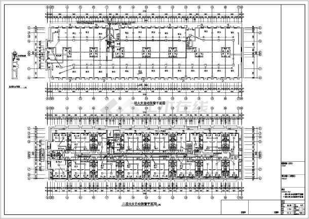 某9844㎡地上七层公寓式酒店电气施工图(三级负荷)-图2