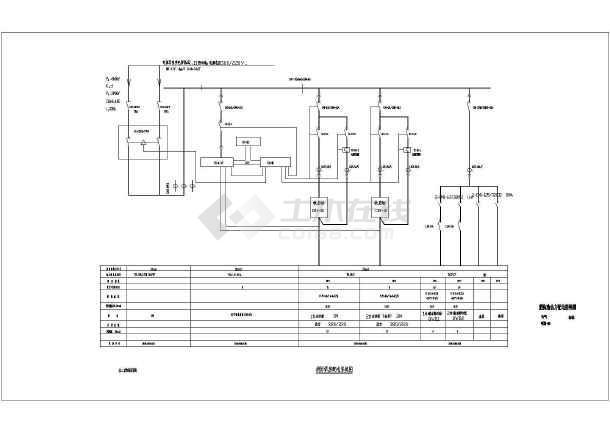 点击查看邯郸某地上一层垃圾预埋场电气施工图(三级负荷)第1张大图