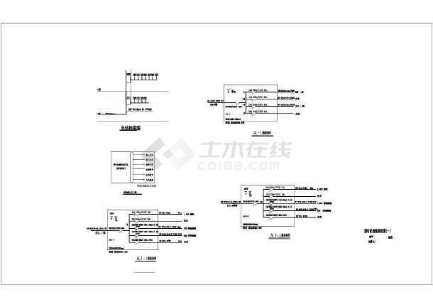 邯郸某地上一层垃圾预埋场电气施工图(三级负荷)-图3