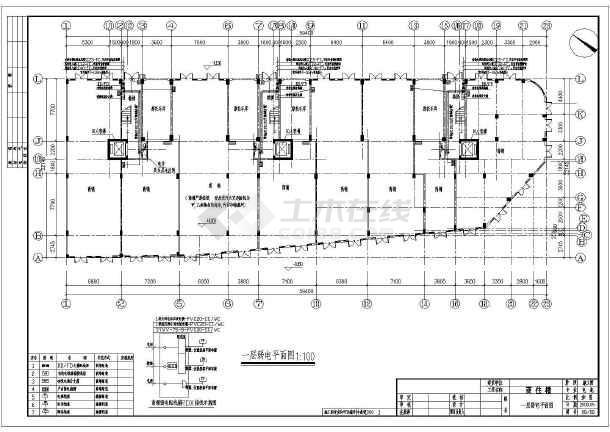 某6505㎡地上六层商住楼电气施工图(三级负荷)-图2