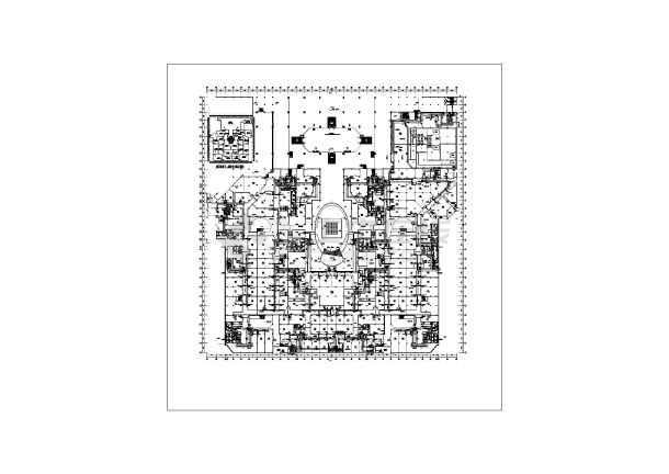 哈尔滨某广场暖通施工图(含设计说明)-图2