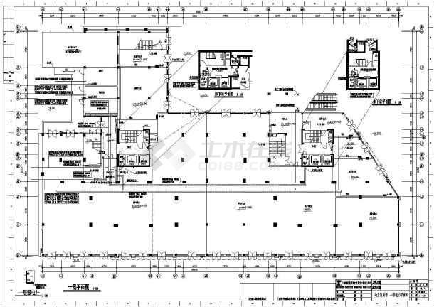 某小区十七层住宅楼全套电气施工图纸(含车库)-图二