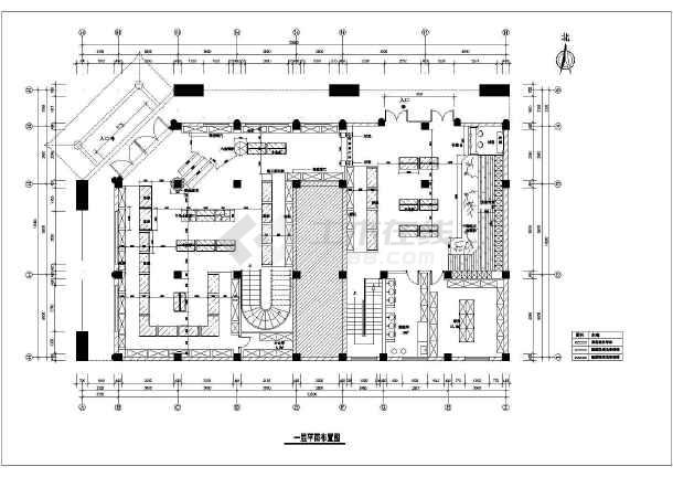 苏州市某两层药店电气装修施工图-图一