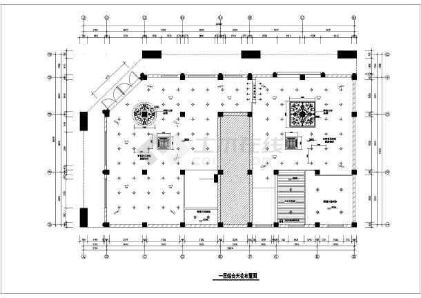 苏州市某两层药店电气装修施工图-图二