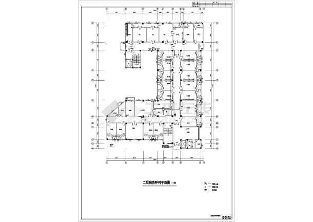 点击查看某地上七层钢筋混凝土结构医院全套电气施工图(一级负荷)第2张大图