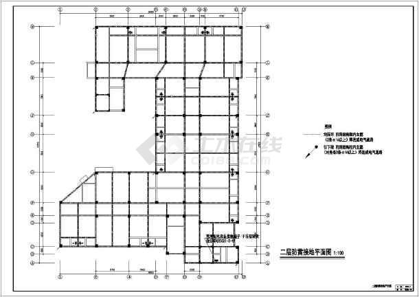 某地上七层钢筋混凝土结构医院全套电气施工图(一级负荷)-图2