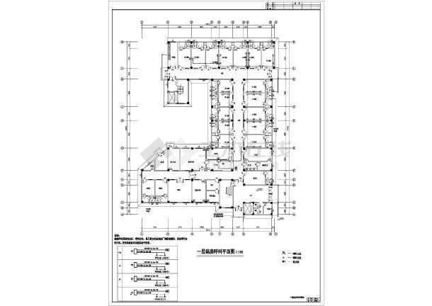 某地上七层钢筋混凝土结构医院全套电气施工图(一级负荷)-图3