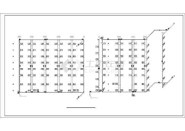某2209㎡地上十二层综合楼采暖通风图(散热器供暖)-图1