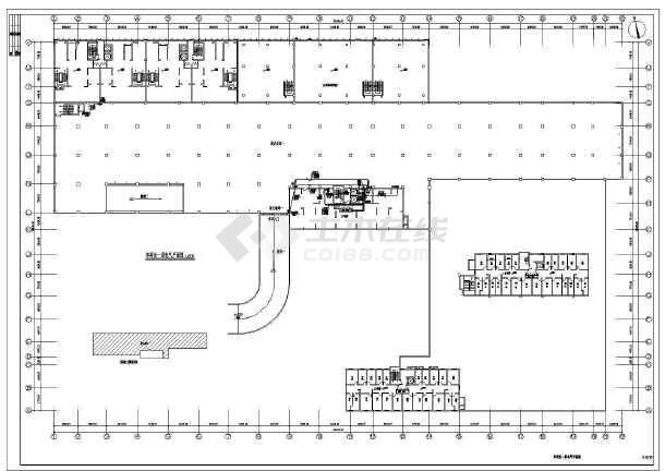 某10389㎡两层地下车库全套电气施工图(二级负荷)-图3