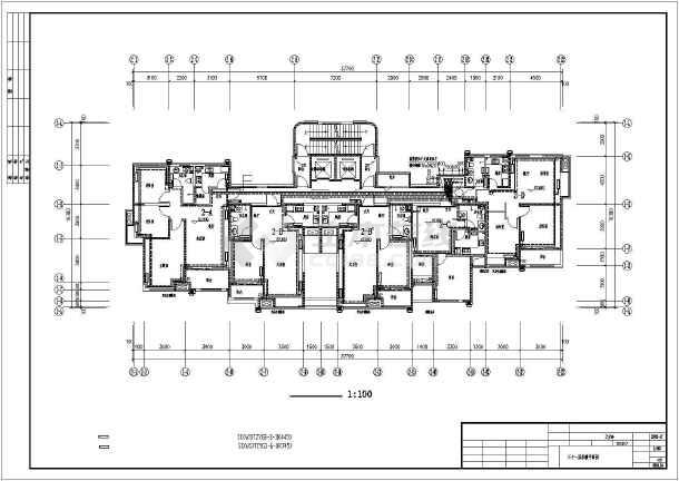 点击查看青岛某高层住宅楼采暖通风图(散热器供暖)第1张大图