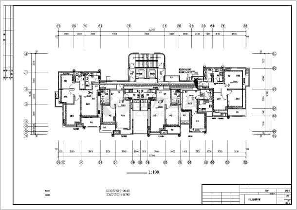 点击查看青岛某高层住宅楼采暖通风图(散热器供暖)第2张大图
