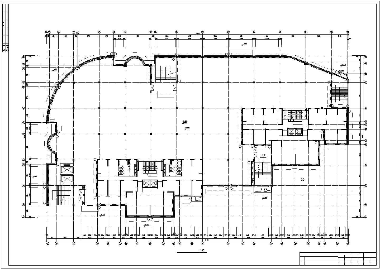 吉林某地上二十六层商住楼采暖图(散热器系统)图片1