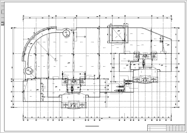 吉林某地上二十六层商住楼采暖图(散热器系统)图片2