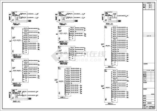 某地上九层公寓电气施工图(二级负荷,第二类防雷)-图一