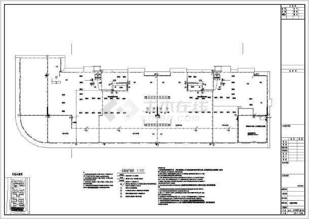 某地上九层公寓电气施工图(二级负荷,第二类防雷)-图2