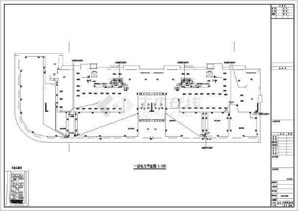 某地上九层公寓电气施工图(二级负荷,第二类防雷)-图3