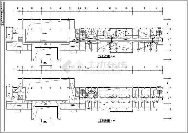 某7627㎡六层办公楼电气施工图(高22米)-图2
