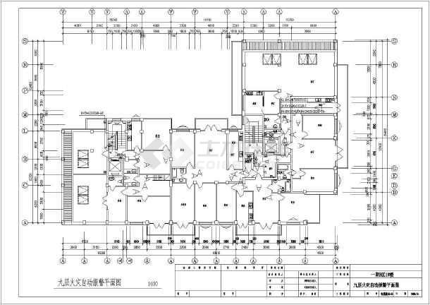 某20842㎡地上十层住宅电气施工图(二级负荷)-图2