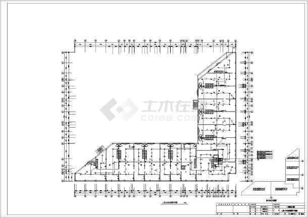某20842㎡地上十层住宅电气施工图(二级负荷)-图3