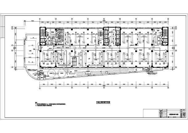 深圳某大厦暖通空调施工图(含设计说明)-图2