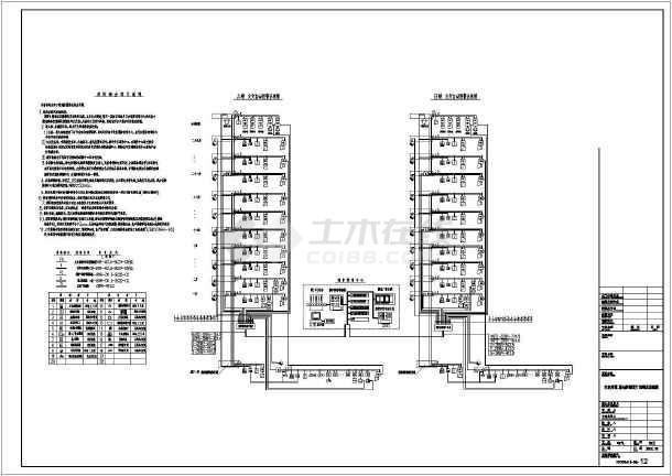 点击查看长春市某三十层住宅电气施工图(一级负荷)第2张大图