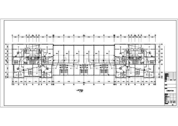 长春市某三十层住宅电气施工图(一级负荷)-图2