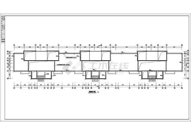 某地上三层住宅楼电气施工图(三级负荷,第三类防雷)-图一