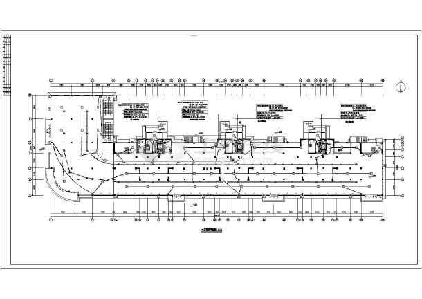 某地上三层住宅楼电气施工图(三级负荷,第三类防雷)-图二