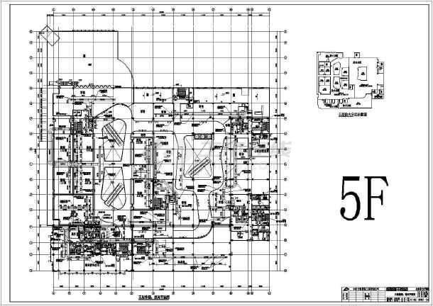 某二十六层广场建筑全套暖通施工图纸及方案-图3