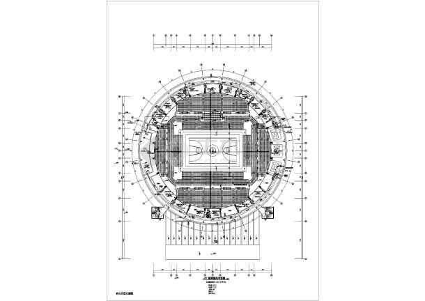 点击查看某15346㎡体育馆暖通空调设计图第1张大图