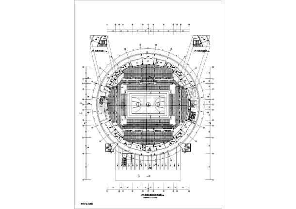 某15346㎡体育馆暖通空调设计图-图2