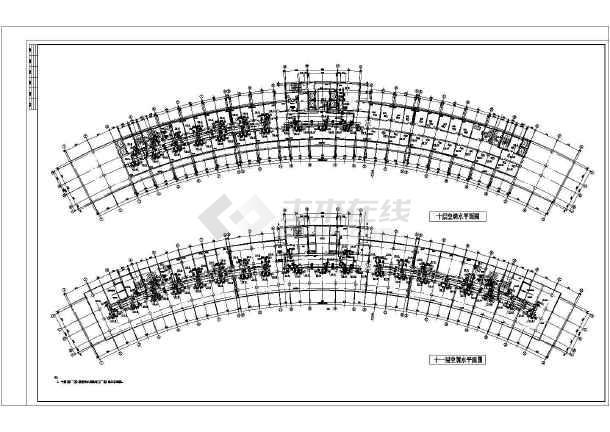 点击查看【克拉玛依】某高层大厦暖通空调设计全套施工图第1张大图