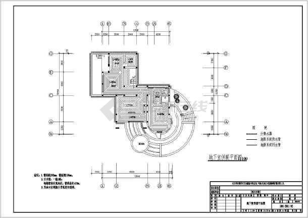 点击查看青岛某别墅暖通空调设计图(含设计说明)第2张大图