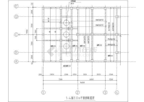 点击查看某循环水池结构设计图第1张大图