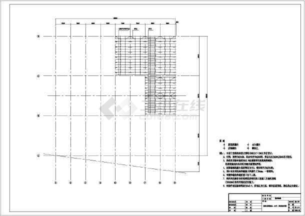 点击查看某熟料堆棚结构设计图第1张大图