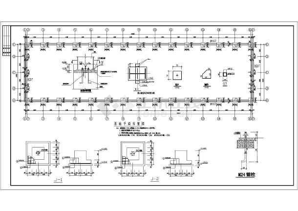 某门式钢架结构设计图,共4张图-图3