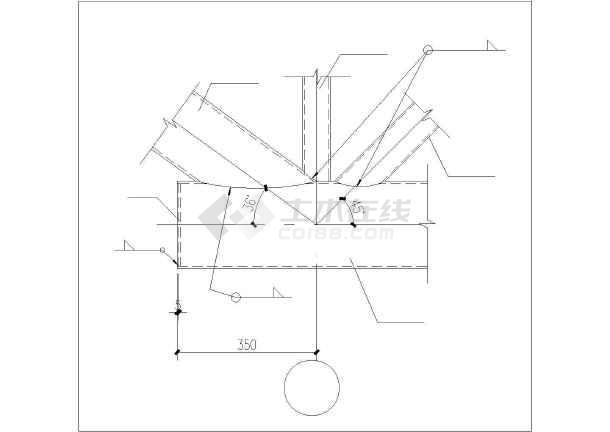 某水泥厂熟料库结构设计图-图二