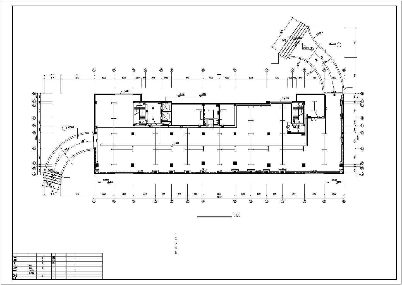 某地上十三层办公楼电气设计图纸(三级负荷)图片3