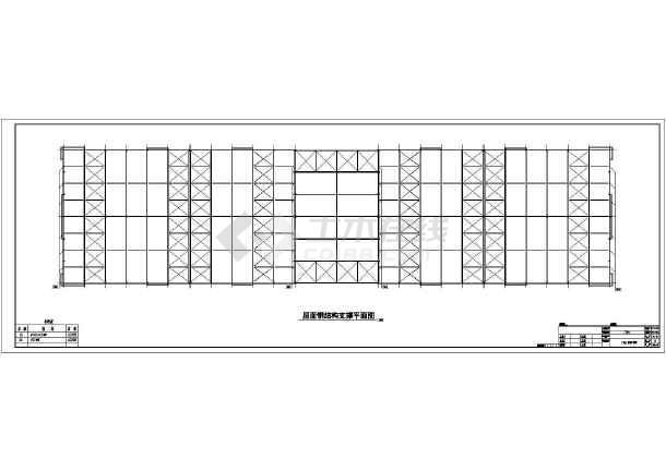 点击查看【宜昌】某厂房结构设计图第1张大图