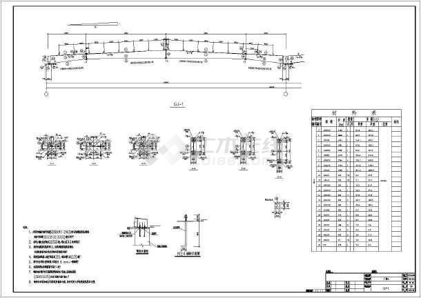 【宜昌】某厂房结构设计图-图2