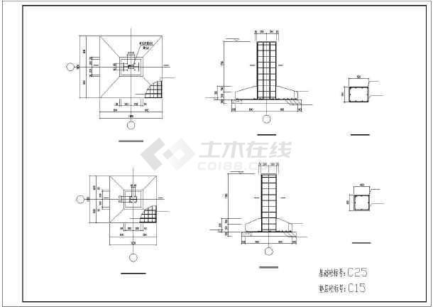 某24米跨厂房结构设计图-图3