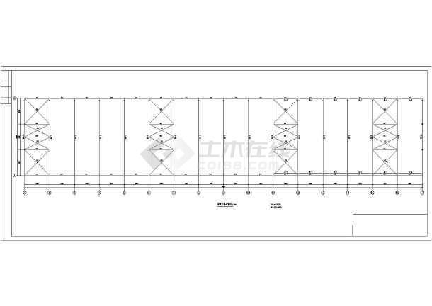 某钢结构厂房图纸-图1