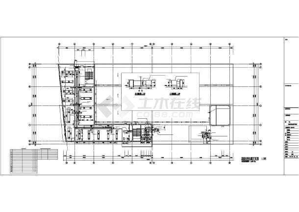 某24969㎡地上四层商业楼暖通空调设计图-图二