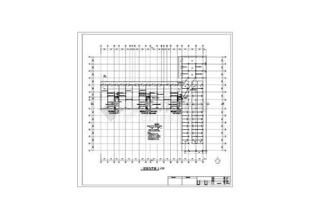 某六层框架结构商住楼全套电气设计施工图纸-图一