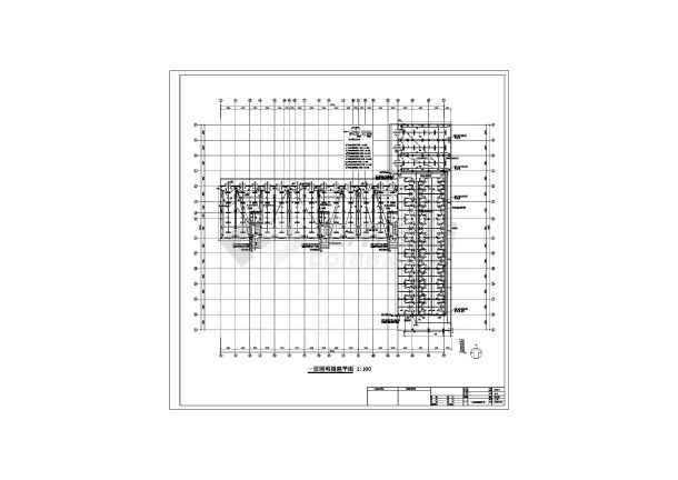 某六层框架结构商住楼全套电气设计施工图纸-图2