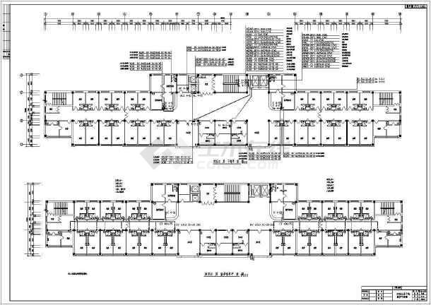 【吉林】某十一层医院电气设计施工图-图1