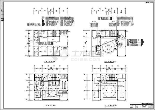 【吉林】某十一层医院电气设计施工图-图3