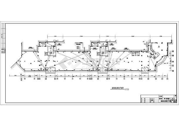 某住宅小区超市电气设计施工图(共10张图)-图2