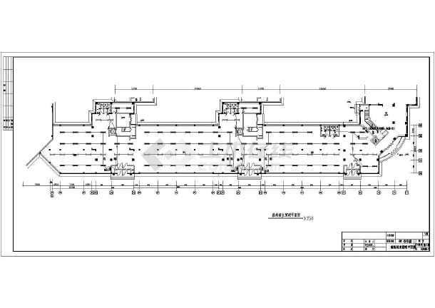 某住宅小区超市电气设计施工图(共10张图)-图3