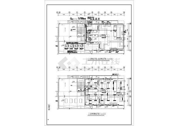 某市人民医院病房楼改建工程电气设计施工图纸-图一
